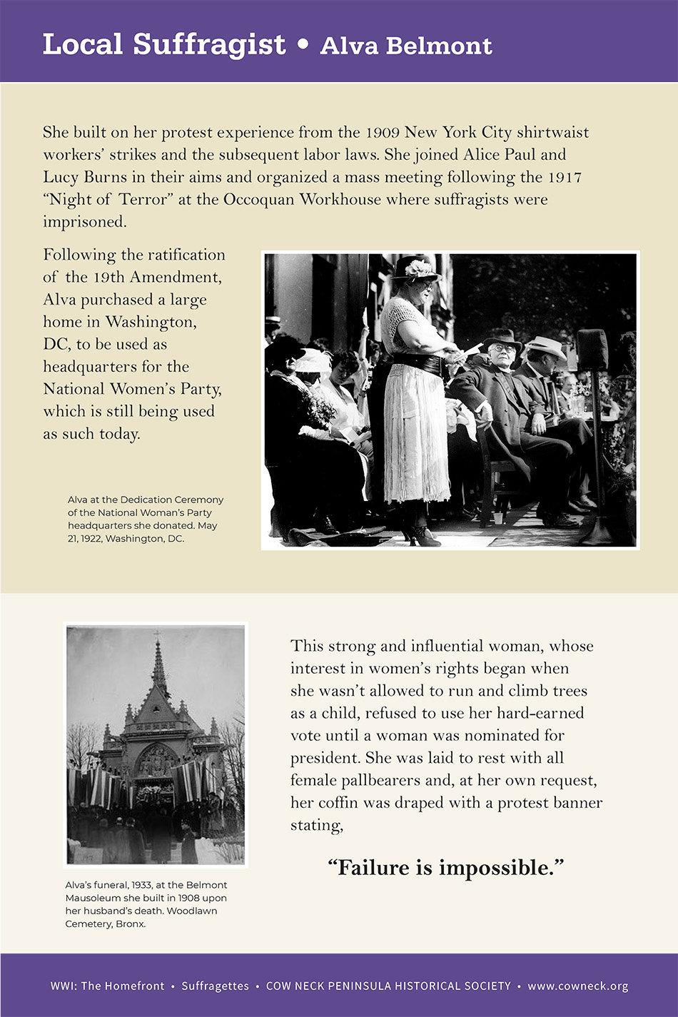 LI_Suffragettes_Alva Belmont_082020_rev-