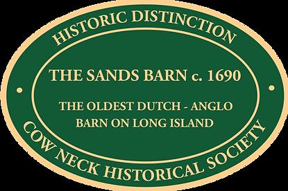 Sands Barn plaque.png