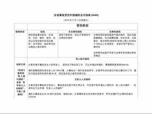 安省事故受伤补偿福利法令指南 (SABS)