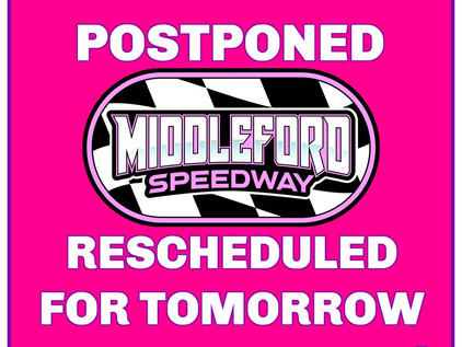 Event Postponed-Rescheduled For Tomorrow October 17th