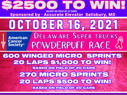 Middleford Speedway's Race To End Cancer + POWDER PUFF RACE!!