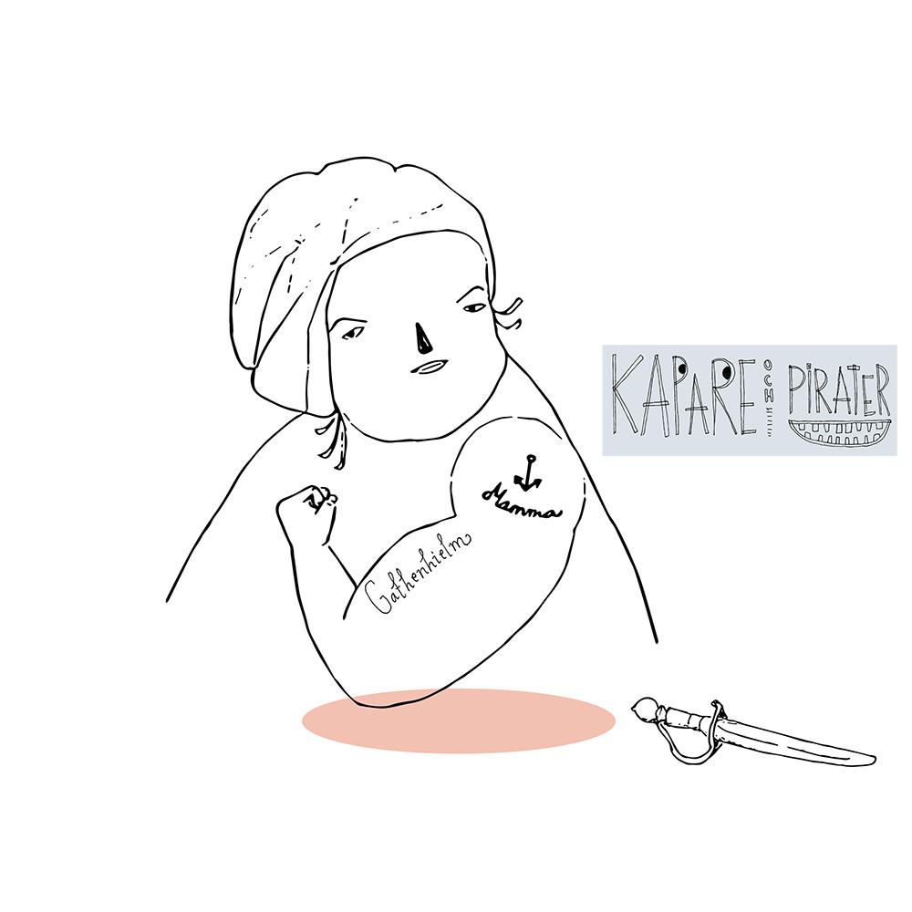 Del av Illustrationsserie för Bohusläns