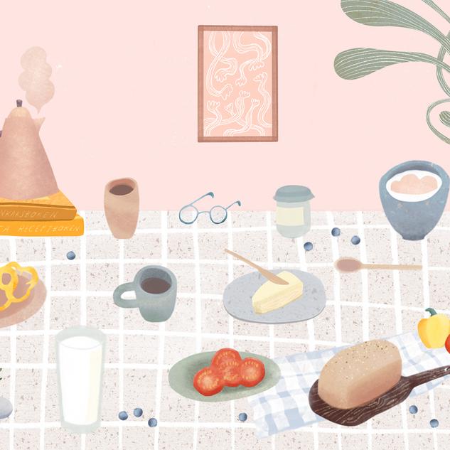 weekend breakfast /