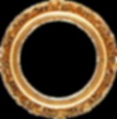 Download-Golden-Round-Frame-PNG-Transpar