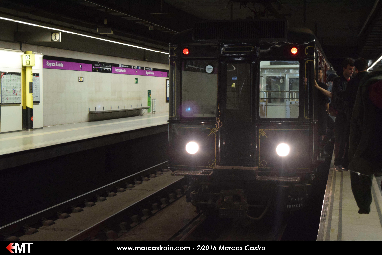 Nuevo viaje con el metro histórico de Barcelona | marcostrain