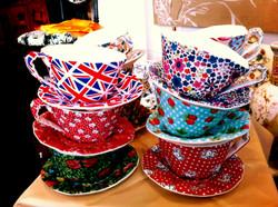 Textile Teacups at Protege