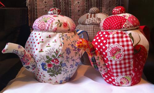 Textile Teapots at Protege