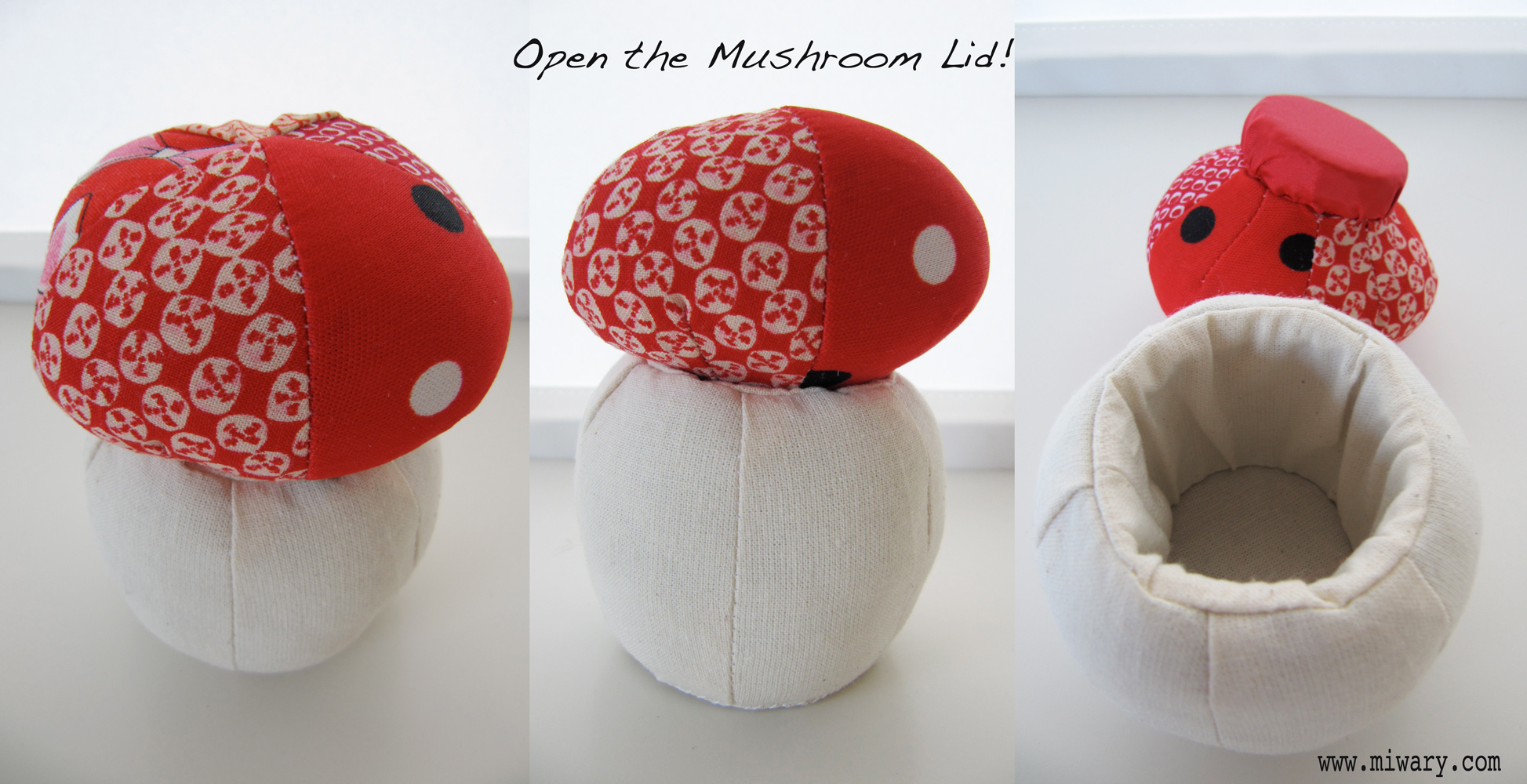 Mushroom Lid Case