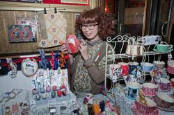 Miwary's stall at Crafty fox 2013