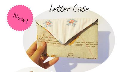 Textile Letter Case
