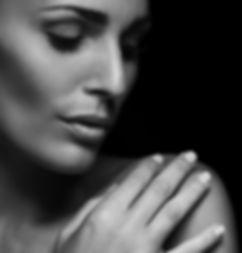Woman clear skin