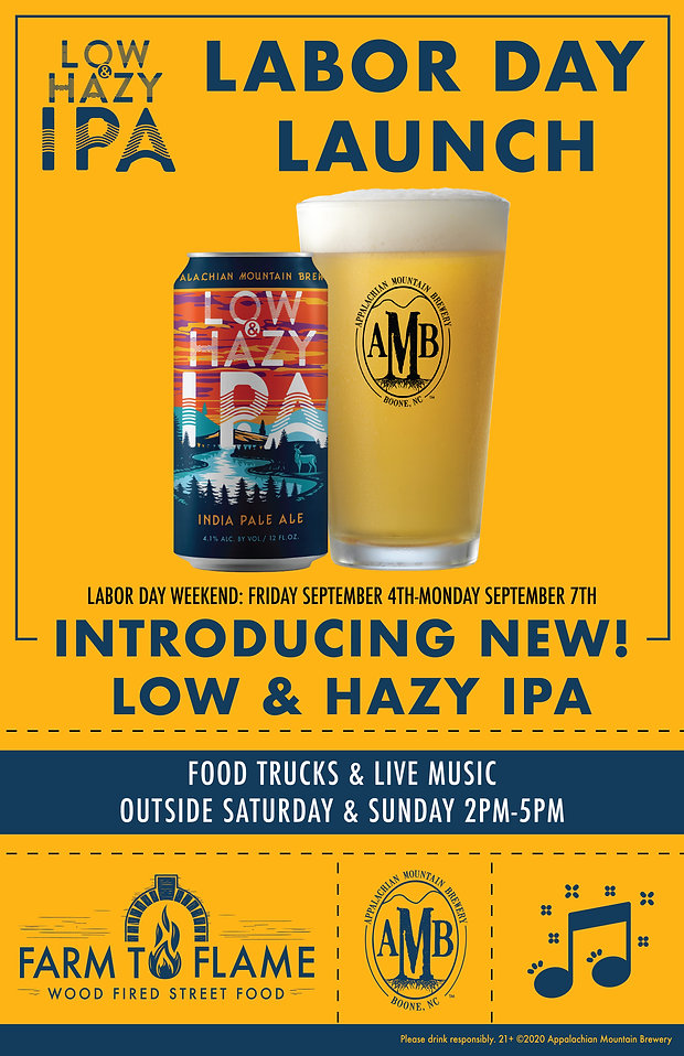 AMB Pub Poster for Low & Hazy Launch Wee