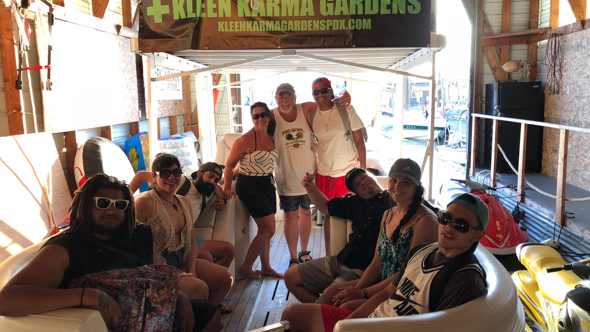 Kleen Karma Boat