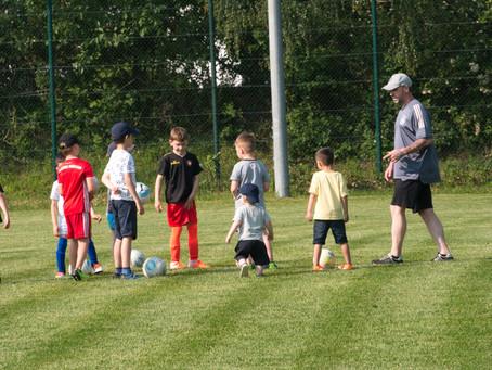 Einblicke ins Training unserer Jüngsten
