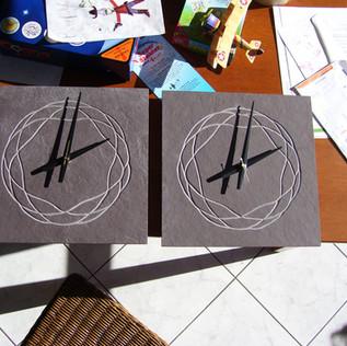 two clocks