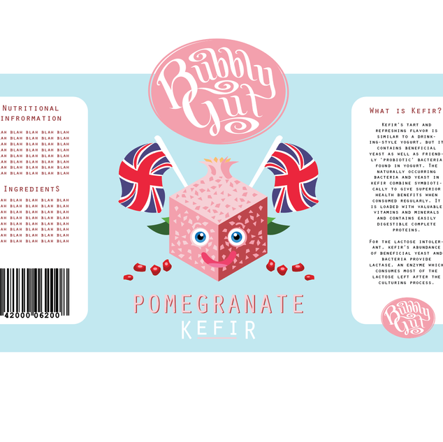 bubbly label 1