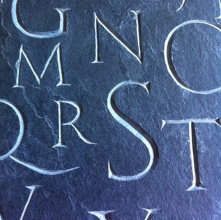 uppercase close up