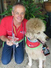 Brisbane Team Excellence Award Winner - Geoff Brannon & Pluto