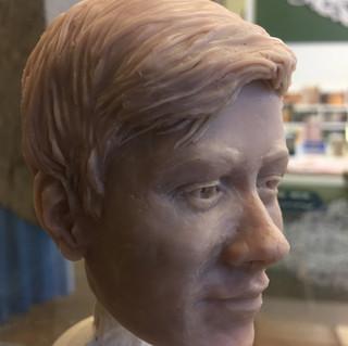 poly portrait prepaint side view 1
