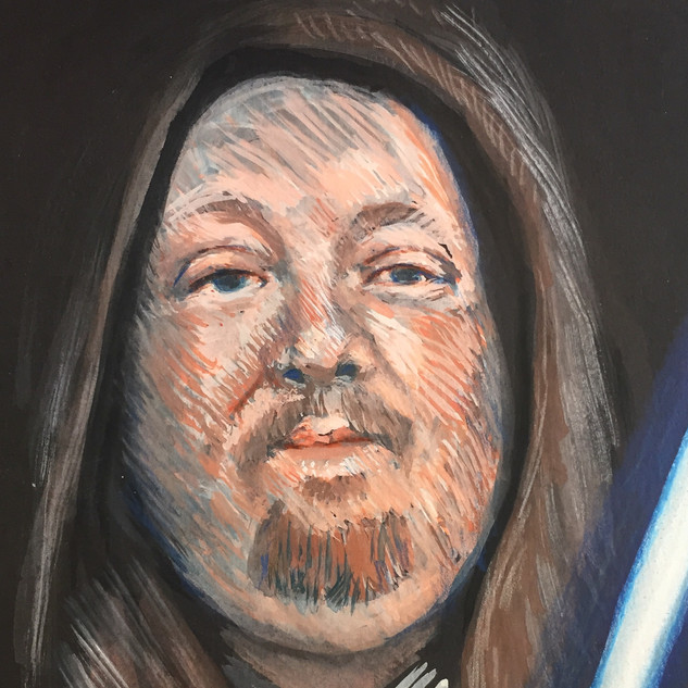 portrait of drew jedi