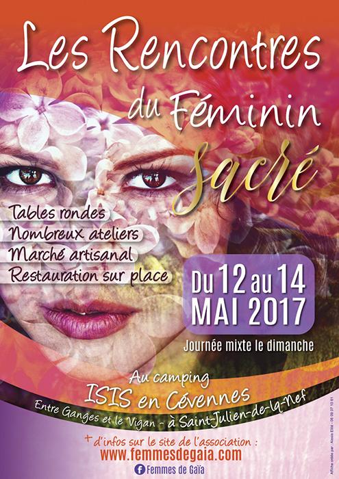 Affiches des Rencontres Féminin 2017