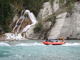 Peddley Falls on the Kootenay River