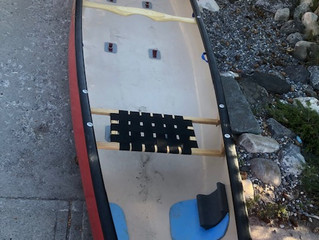 Tandem White Water Canoe Outfitting as we see it Part 1