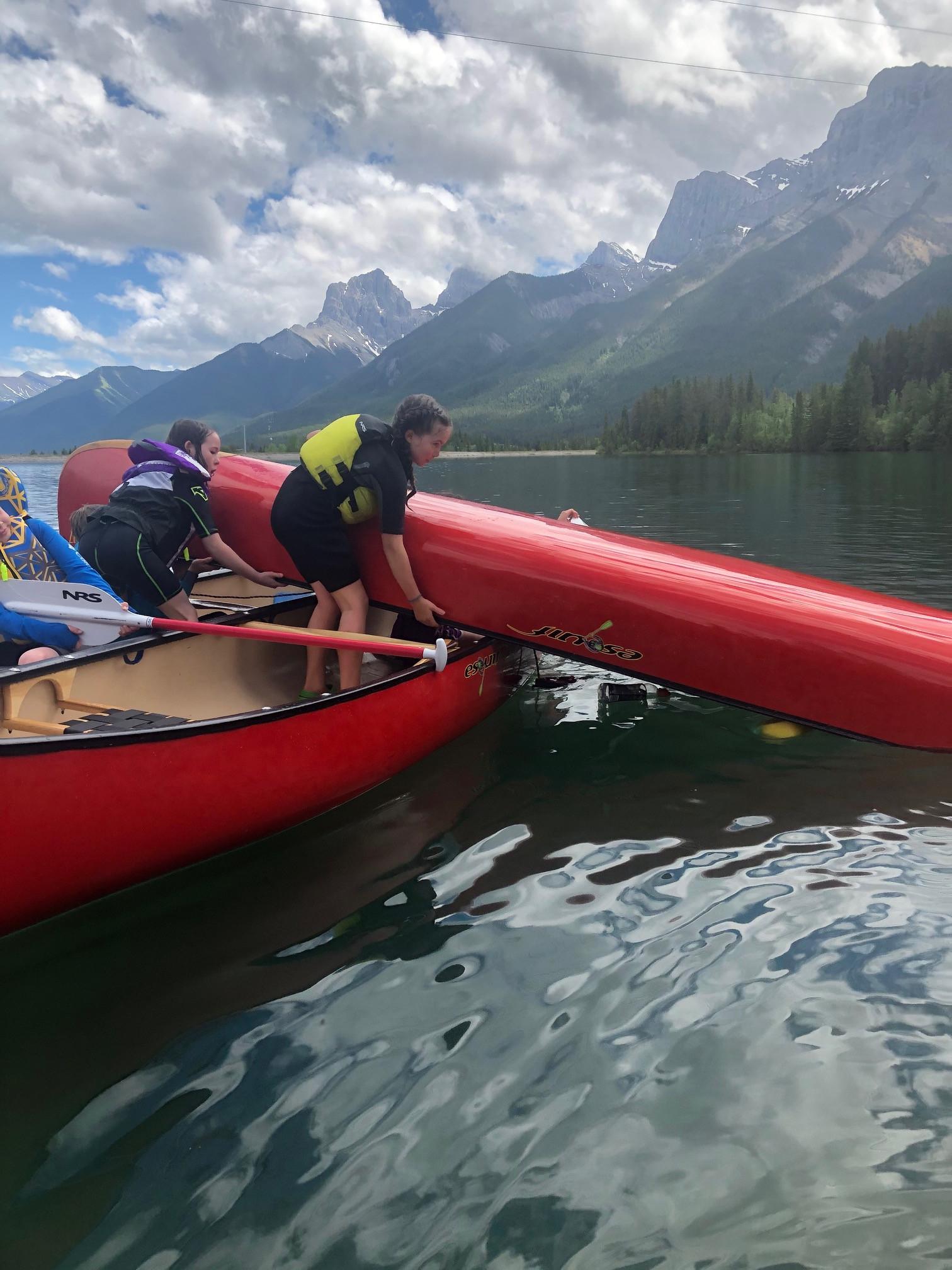 Kids Canoe Camp