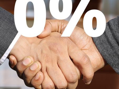 Kredyt z prowizją 0%