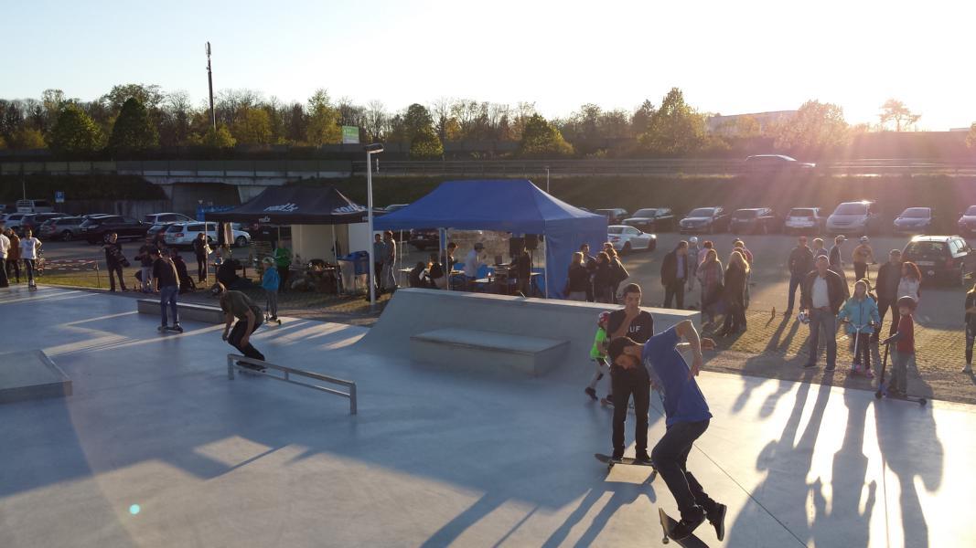 Eröffnung des Skateparks