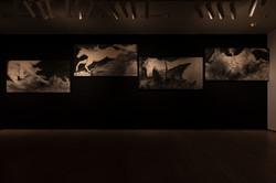 Horses crossed the river a thousand years ago.Art Meets06 MOMMA Miki/yang02 C:Arts Maebashi Photo:Ki