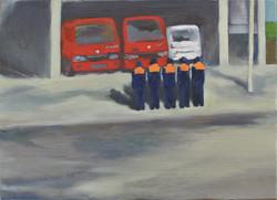 鹿島消防署前 2015