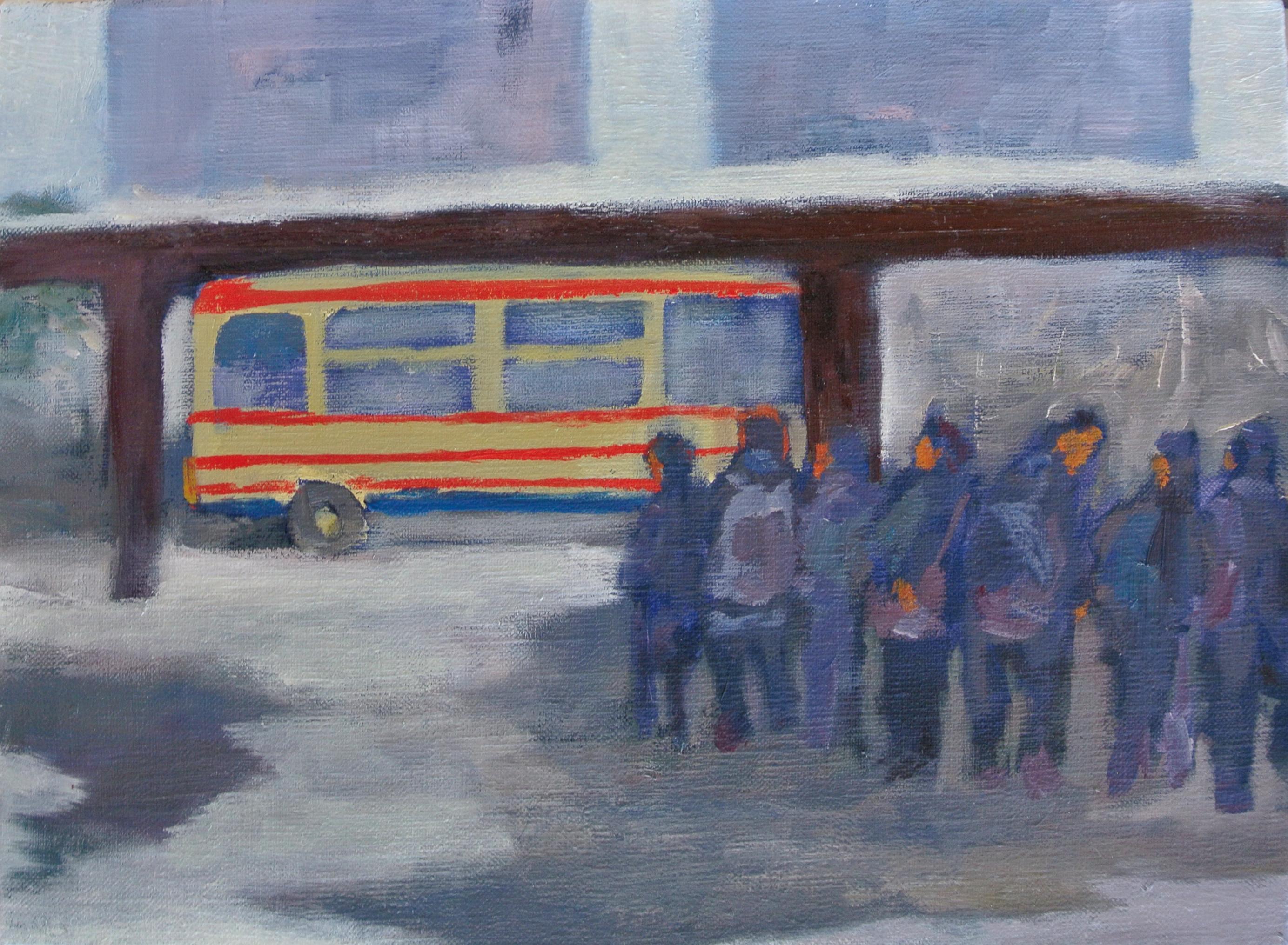 福島市から相馬市に向かうバスは一日四本のみ 2015