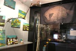 "Solo exhibition. cafe gallery ""damo caffee hause"""