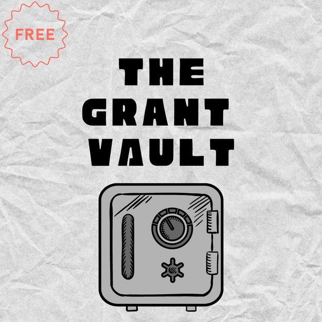 FREE Grant Vault Template