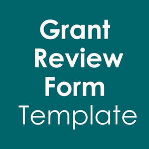 Free Grant Review Form Template