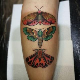 🦋by  @sinercaballero . . . #tattoo #tat