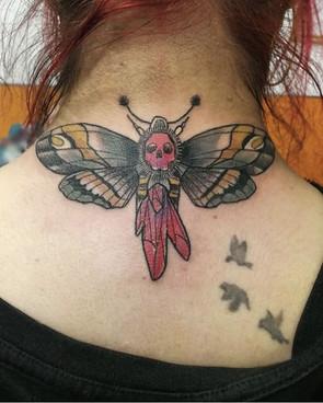 💀🦋💎 Siner Caballero Victor Tattoo . .