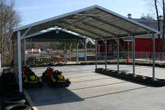 Boxed Eave Style Carport