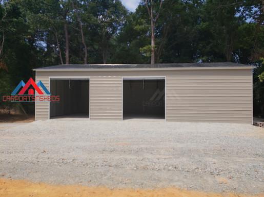 30x50x12 Prefab Metal Garage