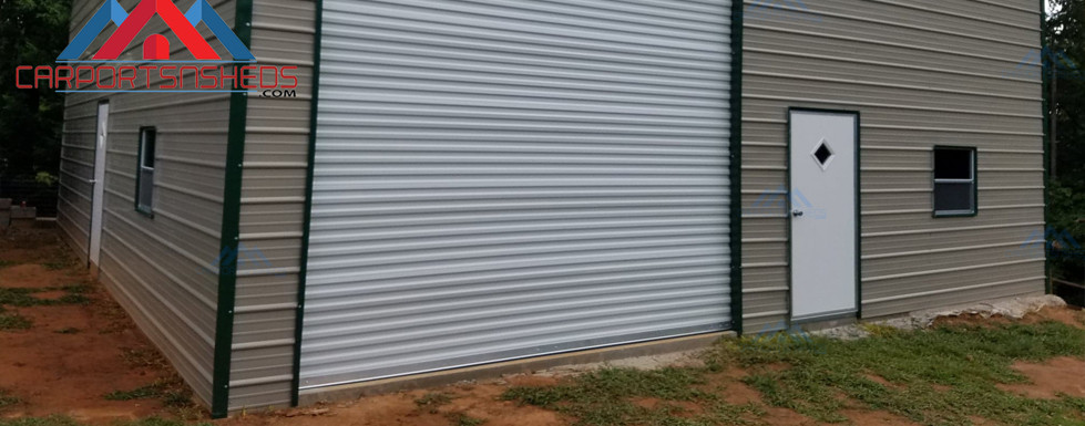 30x36x14 Garage for RV Cover