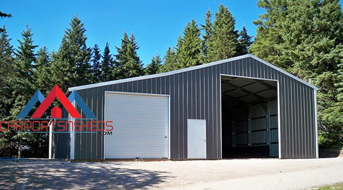 prefab metal garage for RV