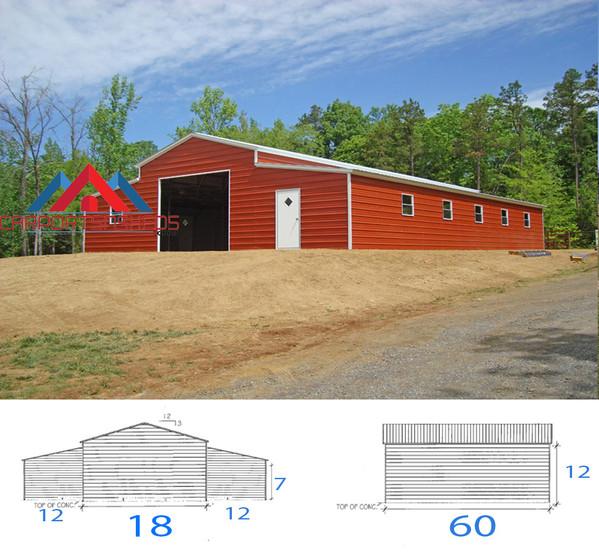 42x60x12 Barn