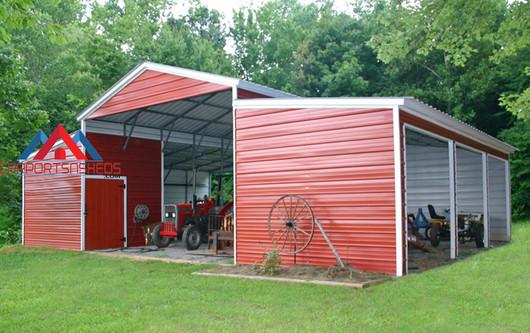 Custom Metal Barn