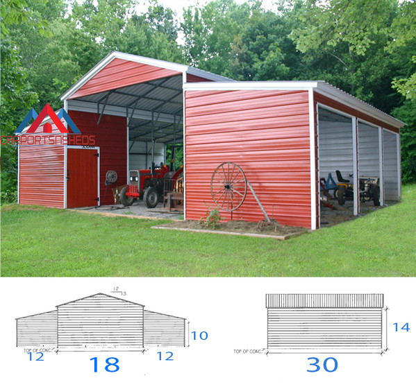 Custom Carolina Barn