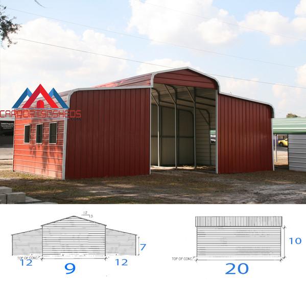 33x20x10 Horse Barn