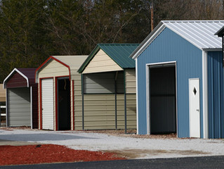 The best time to purchase a new storage shed/building