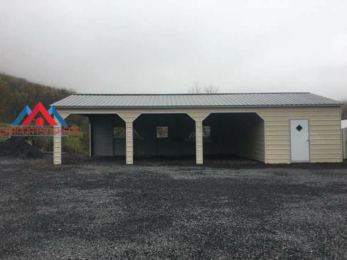 Custom Prefab Metal Garage/shed