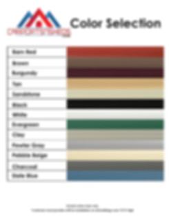 Color selection for carpot