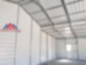 interior corner of 30x50 metal barn.jpg